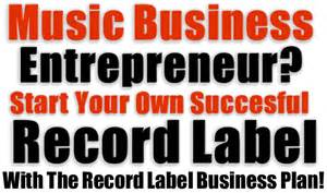 best clickbank store record label business plan start