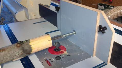log tenon jig  router table  tis  lumberjockscom