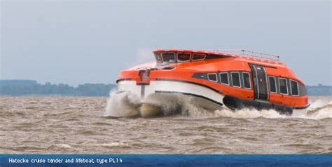 types of rescue boats hatecke gmbh lifeboats rescue boats and davit systems