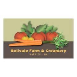 farm business card vegetable market chef or farm business card zazzle