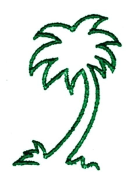 balboa threadworks embroidery design palm outline 2 75