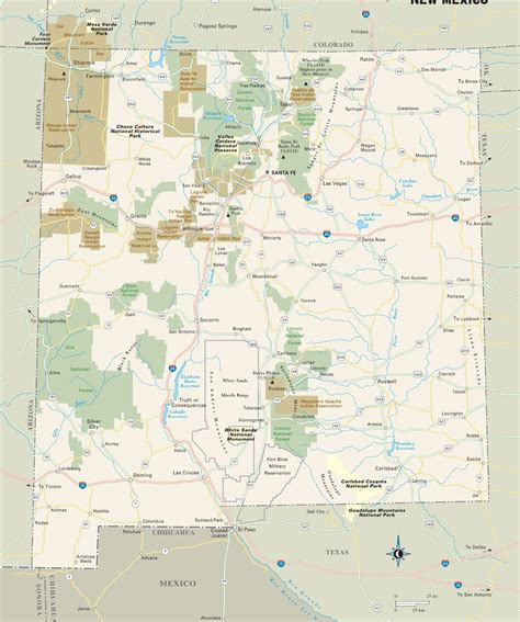 mexican national new mexico forest map afputra