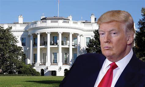 trump president wie verhuist er niet mee naar het witte