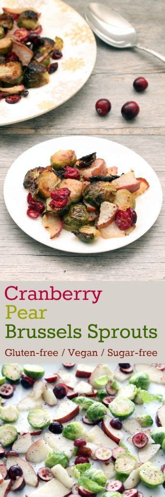 brussels sprouts recipes vegetarian cran peary brussels sprouts gluten free vegan plant