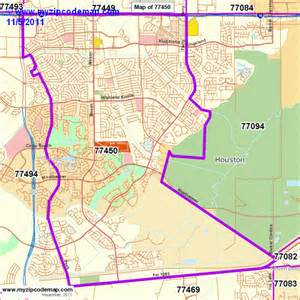 zip code map of 77450 demographic profile residential