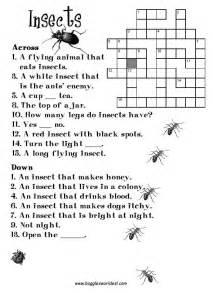 Crossword Answer Garden Pests Crosswords For Esl