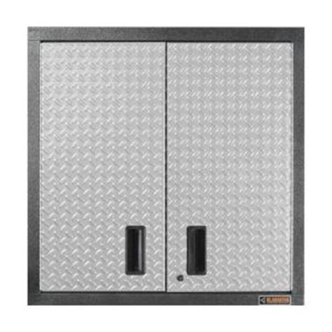 garage wall cabinets home depot gladiator premier series pre assembled 30 in h x 30 in w