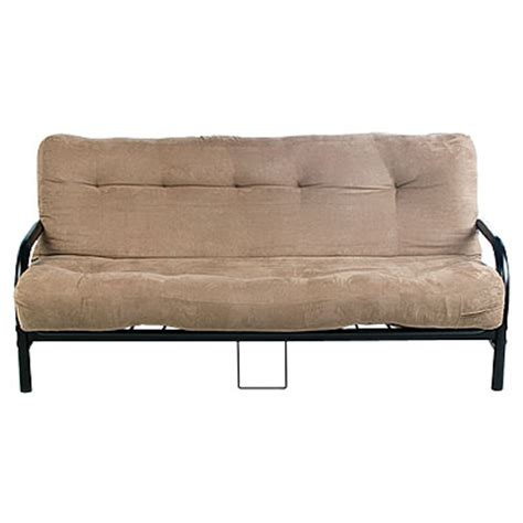 Big Futon by View Black Futon Frame With Camel Futon Mattress Set Deals