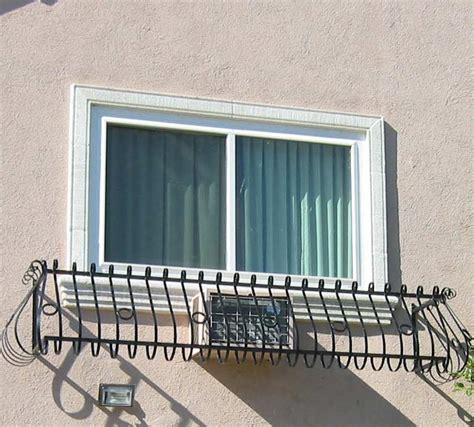 wrought iron window box cages air conditioner cages and wrought iron window guards
