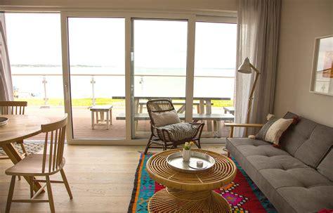 wohnzimmer suiten penthouse suiten mit meerblick ostsee strandhaus holnis
