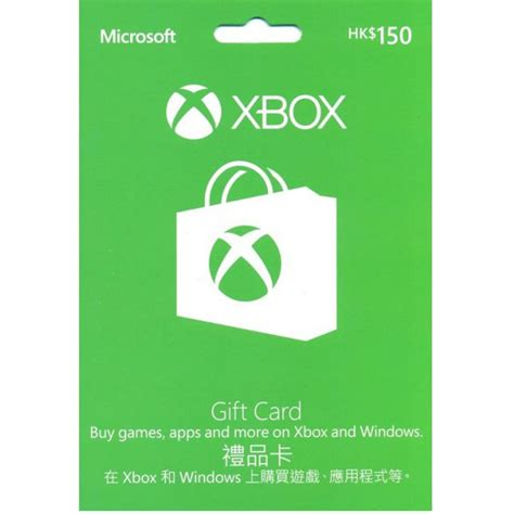Sell Microsoft Gift Card - xbox gift card hkd150 for hong kong microsoft account only ebay
