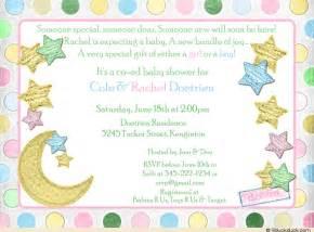 gender neutral baby shower invitation pink blue blocks
