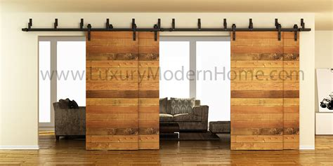 Sliding Barn Door Kit Austin Double Bypass Sliding Barn Door Hardware