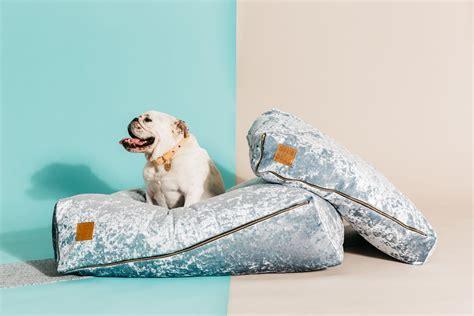 nice dog beds crushed velvet dog beds from nice digs dog milk
