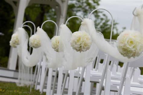 wedding aisle flower balls rustic country wedding ideas pomanders a simple