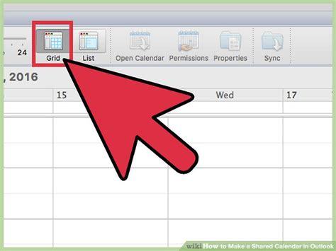 make outlook calendar how to make a shared calendar in outlook with pictures