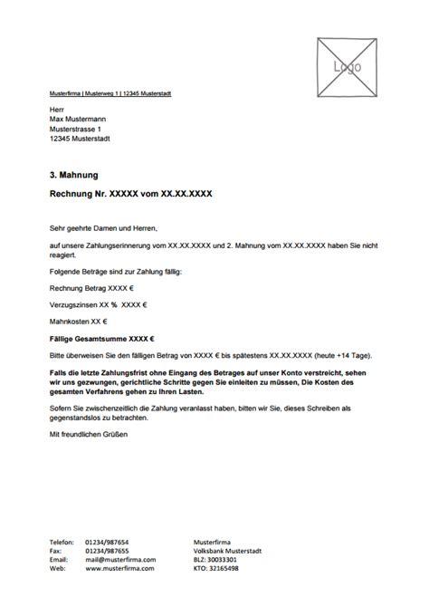 Angebot Musterschreiben Pdf Kostenlose Mahnungsvorlage Zum Lexoffice