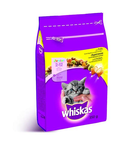 Whiskas Junior 1 1 Kg whiskas croccantini junior con pollo 1 4 kg