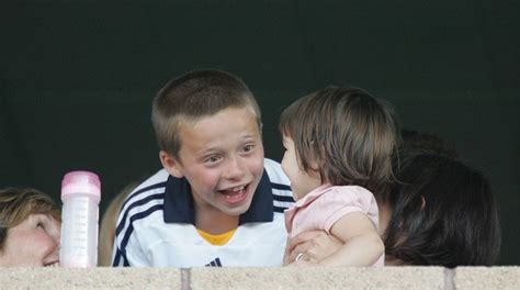And Suri La Galaxy Vs Chelsea by Suri Cruise Beckham Photos At The
