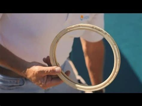 How To Change A Pool Light by How To Replace A Pool Light Gasket Pool Tips Care