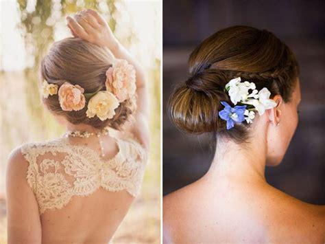 acconciature con fiori nei capelli idee per indossare fiori nei capelli