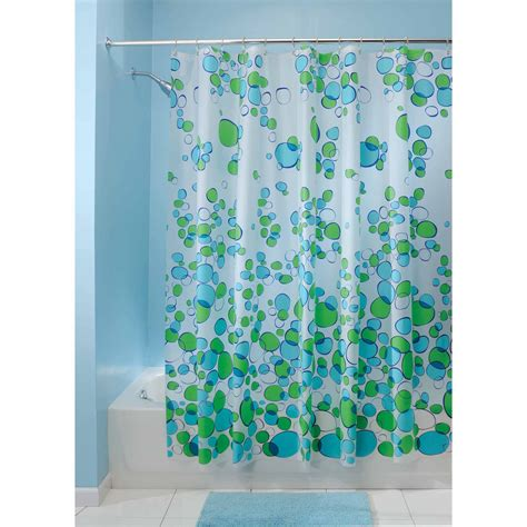 Blue Bathroom Shower Curtains Blue Green Shower Curtains Curtain Menzilperde Net