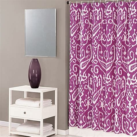 trina turk shower curtain trina turk 174 ikat 72 inch x 72 inch shower curtain in