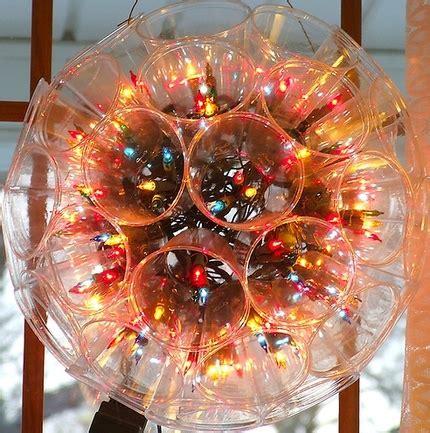 addobbi con bicchieri di plastica decorazioni natalizie con bicchieri di carta fotogallery