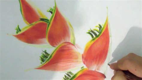 imagenes de flores a color dibujo flores a color flowers color drawing 色鉛筆で描いた花