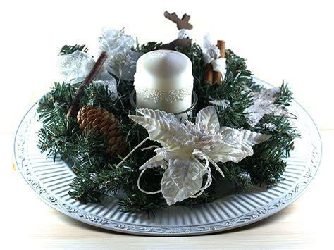 centrotavola natalizio con candela centrotavola natalizio con candela per la casa e per te