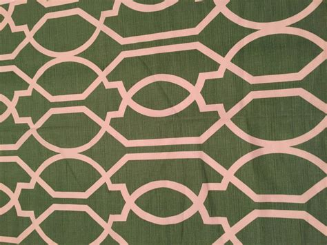 trellis fabric green white trellis pattern fabric