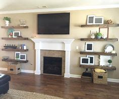 floating shelves for fireplace 1000 ideas about floating entertainment center on