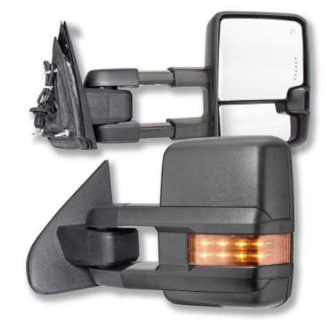 2016 Chevy 2500 Side Mirrors by Chevy Silverado 2500hd 2015 2018 Towing Mirrors Led Signal