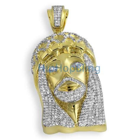 Bling Bling Jesus Pendant by Gold Jesus Cz Bling Bling Pendant Custom Micro