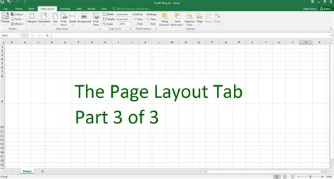 excel layout tab excel the iil blog