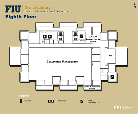 library floor plan library floorplans fiu libraries