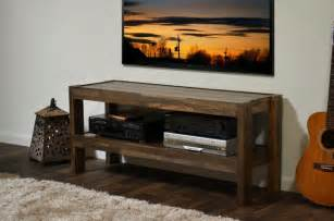 Salvaged Pallet Side Table With Storage » Ideas Home Design