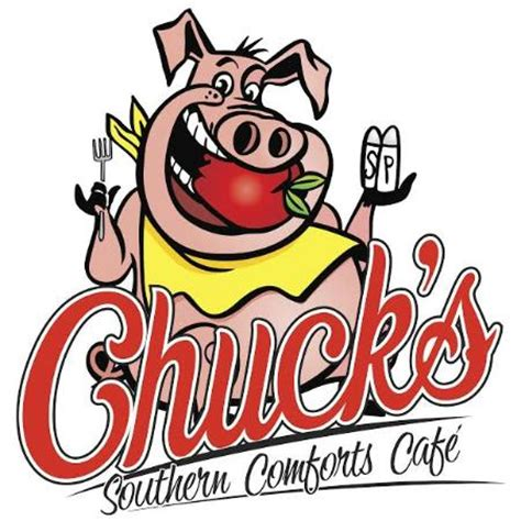 chucks southern comfort chuck s logo 2 picture of chuck s southern comforts cafe