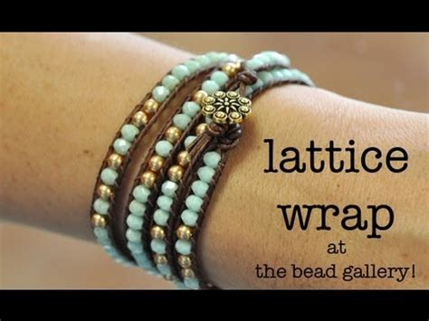 the bead gallery honolulu チャンルー風ラップブレスレットの作り方 vol 1 wrap bracelet tutorial doovi