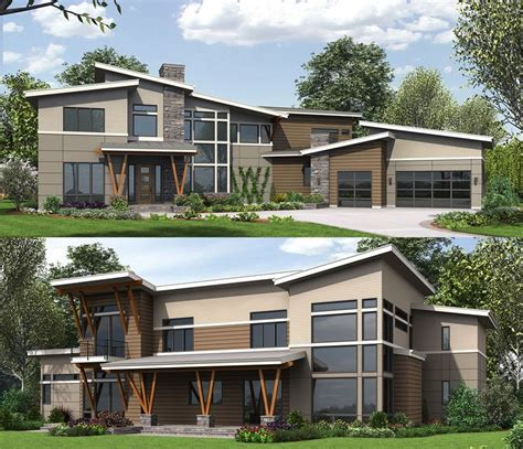 modern home design 4000 square 161 best images about modern house plans on decks modern ranch and design