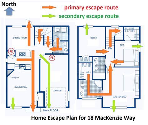 W Escape Plans by Be Prepared Home Escape Plans Goldsealnews