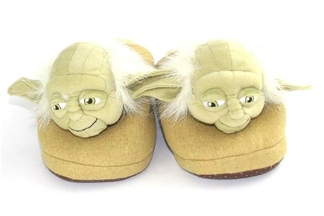 yoda slippers for wars yoda slippers large s at mighty ape nz