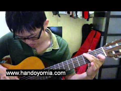 tutorial fingerstyle semua tentang kita semua tentang kita peterpan fingerstyle guitar solo