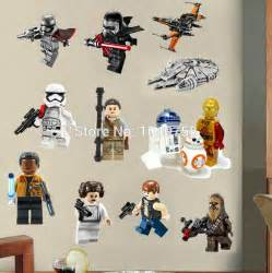 star wars lego movie posters wall stickers decals art for baby nursery home furniture amp diy decor