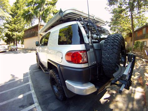 details about thule spare tire bike rack 963 spare me fj