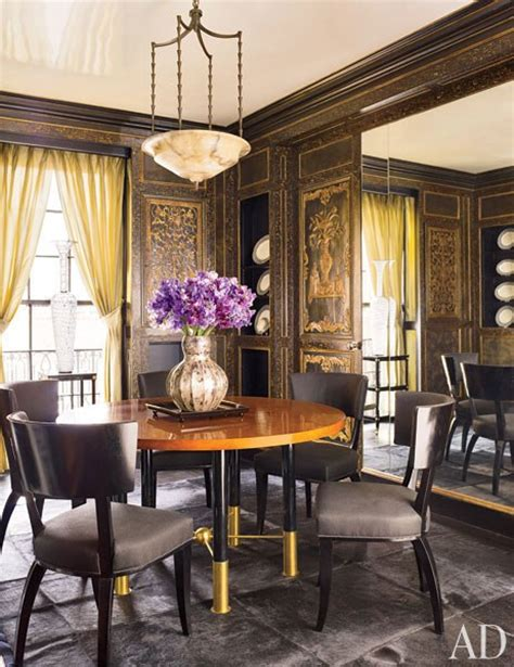 Architectural Digest Dining Rooms by Designers And Architects Own Dining Rooms Photos