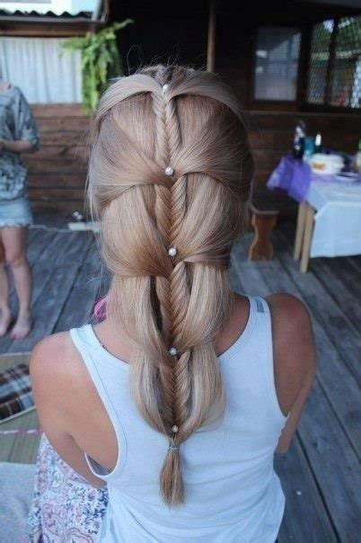easy cascading braids hairstyles cascading french fishtail braid down mountains clothes