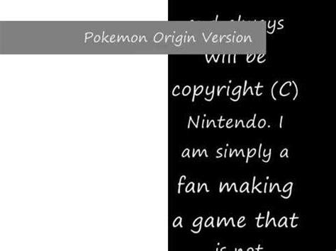 dual full version game full download pokemon origin version first look dual