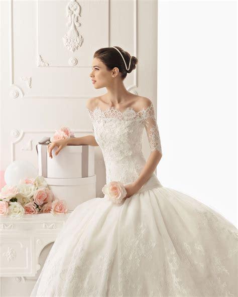 brautkleider romantisch lace wedding dress rosa clara bridal gown 2013 1