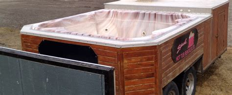 bathtubs for trailers trailer tubs splash hot tub rentals and sales